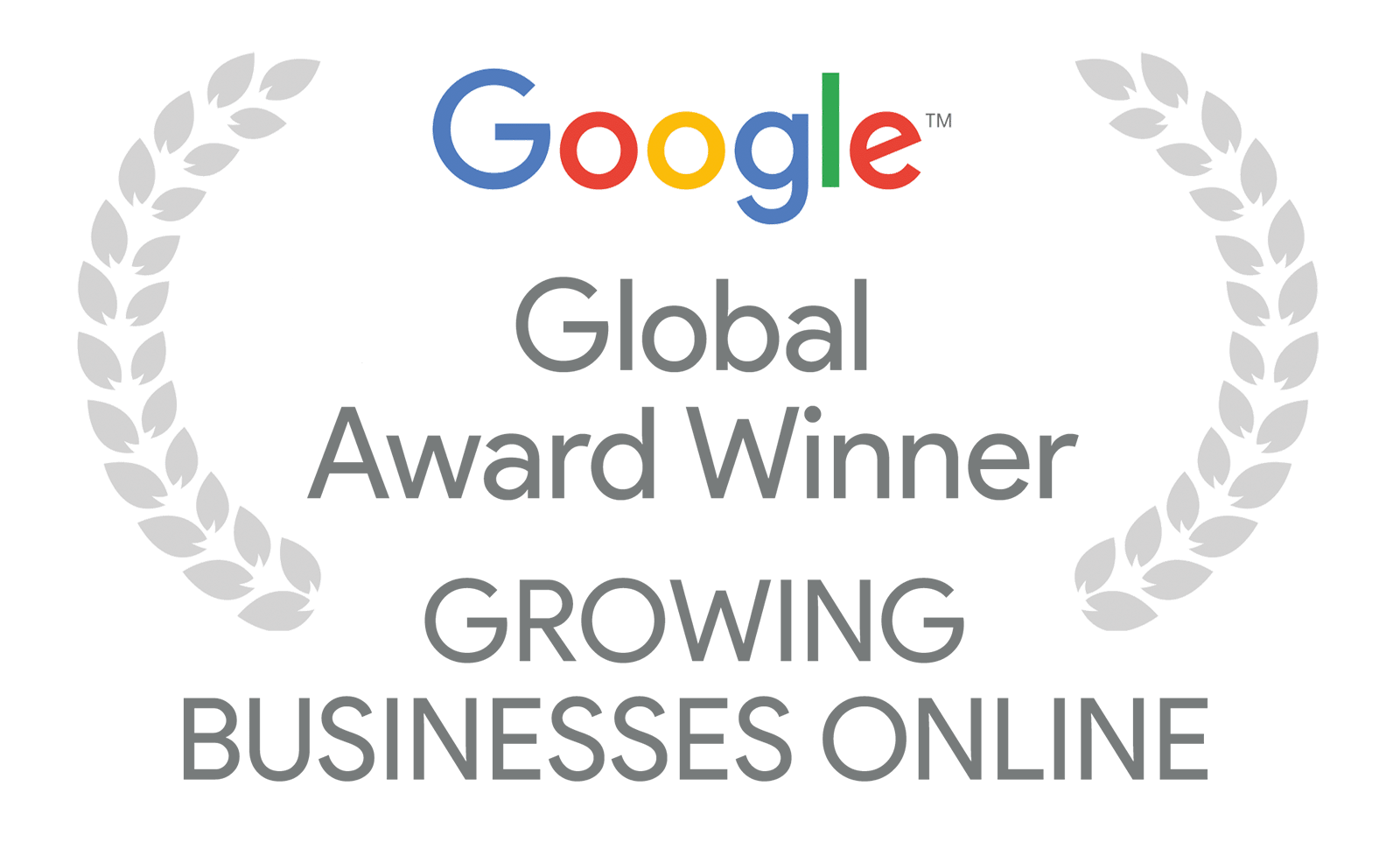 Google Global Award Winner